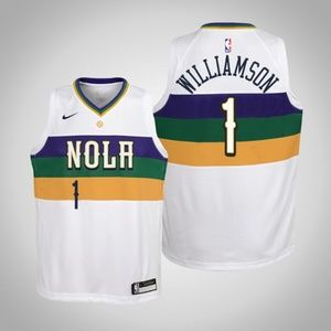 Youth Zion Williamson New Orleans Pelicans Jersey